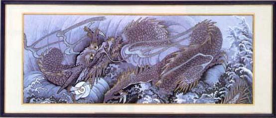松鳩文化刺繍